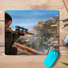 Load image into Gallery viewer, Sniper Aim Game Design Mousepad
