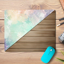 Load image into Gallery viewer, Marble Wood Design Mousepad