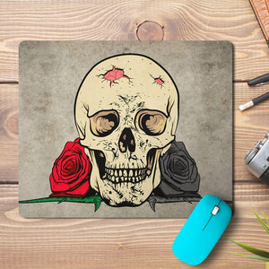 Skull Face Design Mousepad
