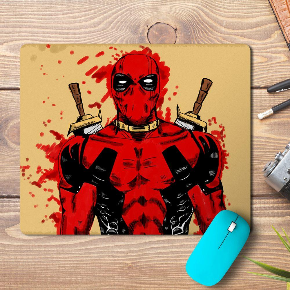 Deadpool Abstract Design Mousepad - PrintNawab