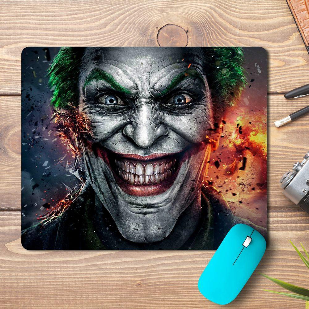 Joker Face Abstract Design Mousepad
