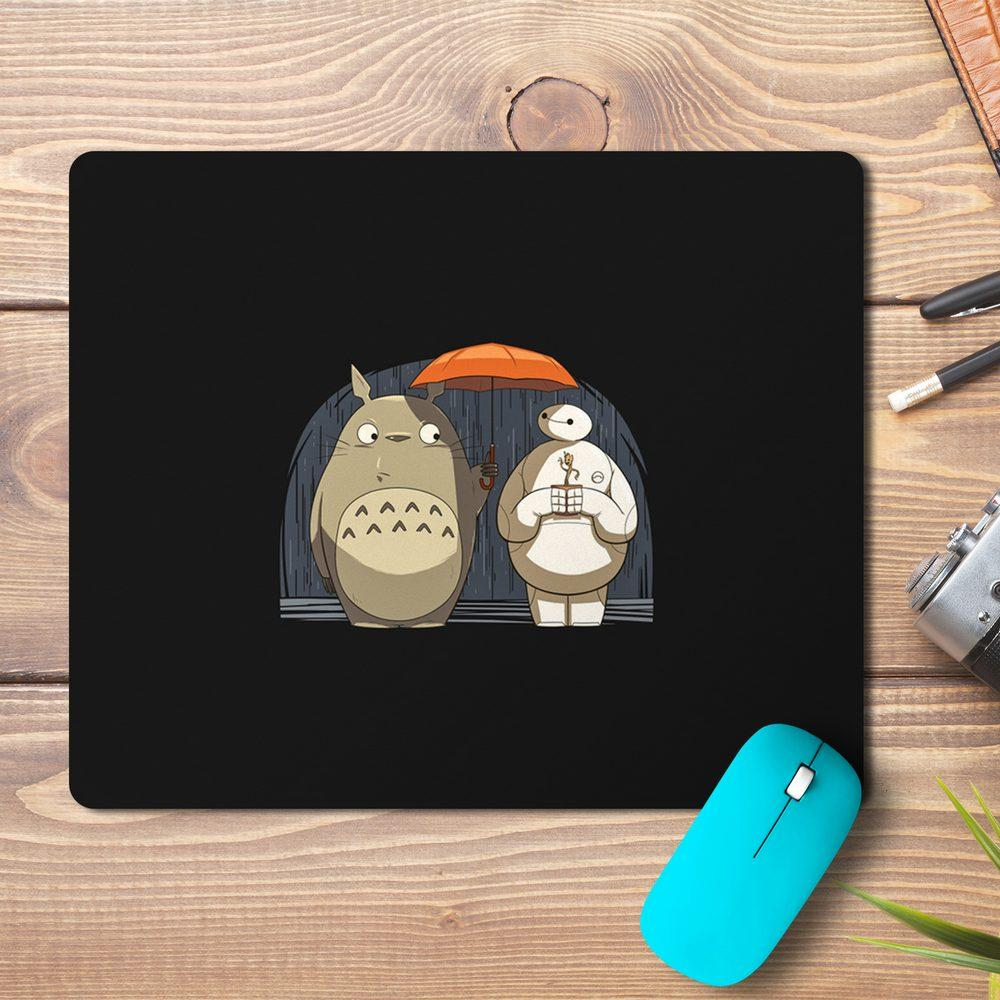 Totoro Baymax Cartoon Design Mousepad