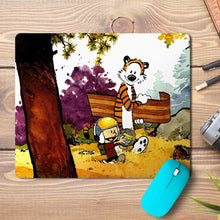 Load image into Gallery viewer, Hobbes Comic Design Mousepad - PrintNawab