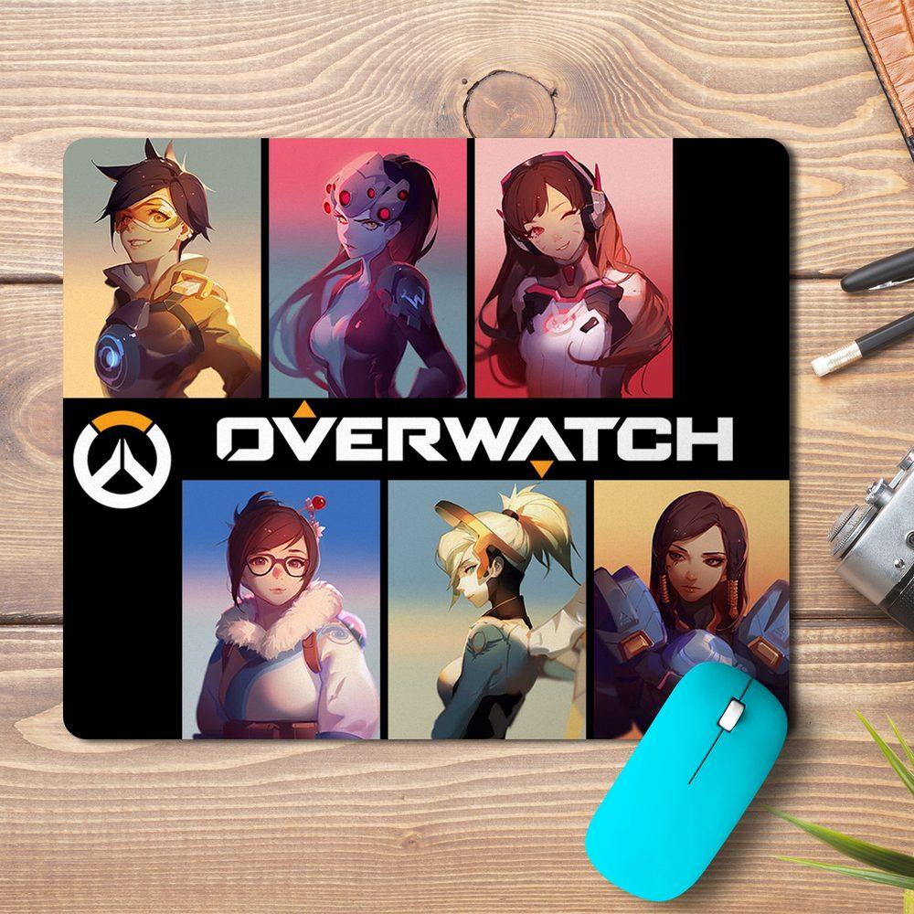 Overwatch Players Design Mousepad