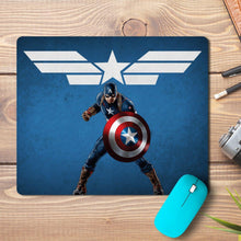 Load image into Gallery viewer, Superhero Captain Star Design Mousepad
