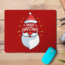 Load image into Gallery viewer, Merry Christmas Santa Design Mousepad