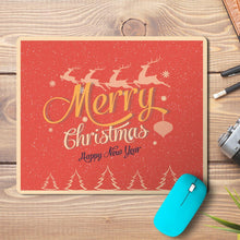 Load image into Gallery viewer, Merry Christmas New Year Wishes 3 Design Mousepad