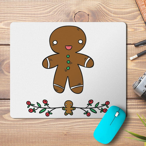 Christmas Ginger Design Mousepad - PrintNawab
