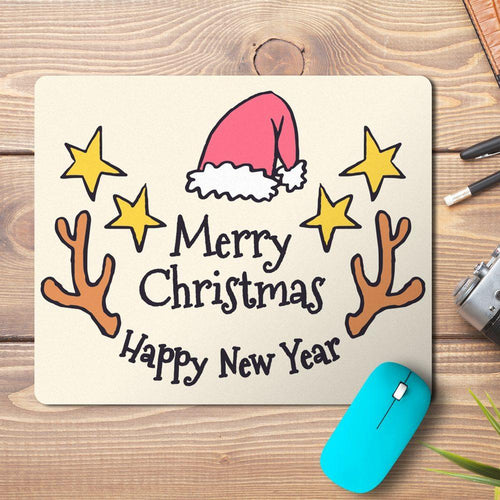 Merry Christmas Top Design Mousepad