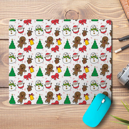 Xmas Celebrations Elements Design Mousepad