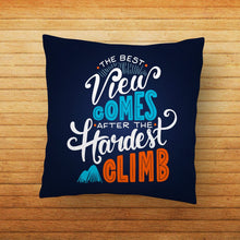 Load image into Gallery viewer, Best Views Quote Printed Cushion - PrintNawab
