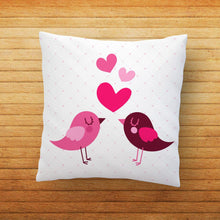 Load image into Gallery viewer, Couple Birds Printed Cushion - PrintNawab