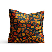 Load image into Gallery viewer, Ethnic Element Design Printed Cushion Cover Pillow - PrintNawab