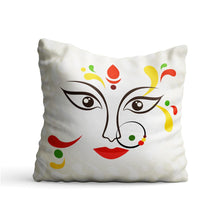 Load image into Gallery viewer, Ethnic Girl Woman Face Printed Cushion - PrintNawab