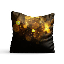 Load image into Gallery viewer, Cube Sparkle Printed Cushion - PrintNawab