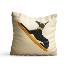 Load image into Gallery viewer, Egypt Anubis Jackal Printed Cushion - PrintNawab