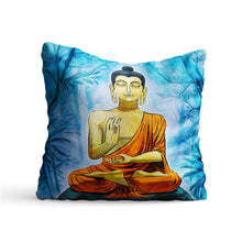 Load image into Gallery viewer, Forest Lord Buddha Printed Cushion - PrintNawab