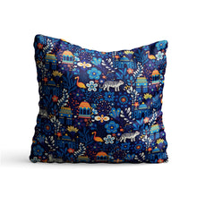 Load image into Gallery viewer, Indian Art Culture Printed Cushion - PrintNawab