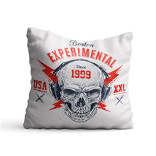 Load image into Gallery viewer, Experimental Skull Printed Cushion - PrintNawab