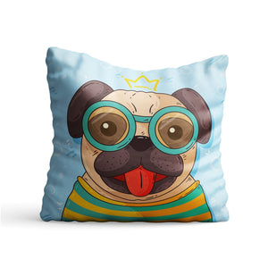Dog Sketch Printed Cushion - PrintNawab