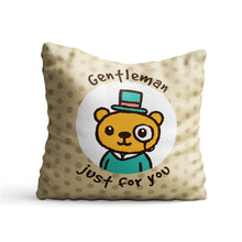 Load image into Gallery viewer, Gentleman for You Printed Cushion - PrintNawab