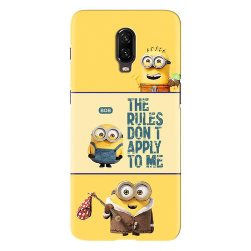 Despicable Minions Quote Design Cover - oneplus 7 - PrintNawab