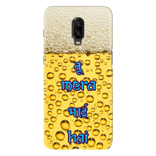 Beer Bubble Design Cover - oneplus 7 - PrintNawab