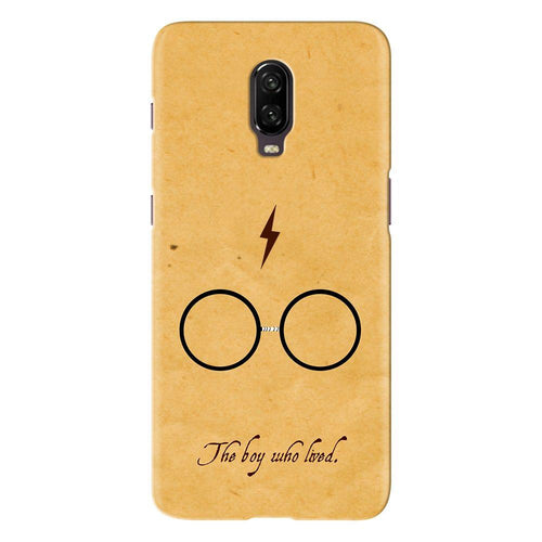 Harry Potter Glasses Design Cover - oneplus 7 - PrintNawab