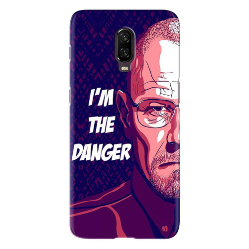 Breaking Bad Danger Design Cover - oneplus 6t - PrintNawab