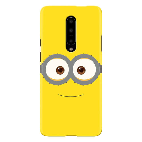 Despicable Minions Face Design Cover - oneplus 7 pro- PrintNawab