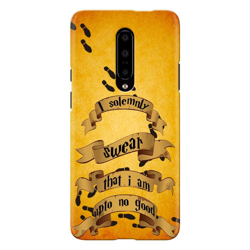 Harry Potter Marauder's Map Quote Design Cover - oneplus 7 pro- PrintNawab