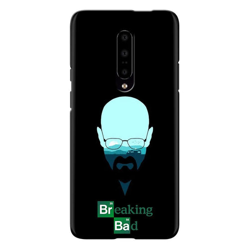 Breaking Bad Face Design Cover - oneplus 7 pro- PrintNawab