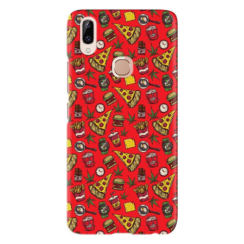 Food Pizza Abstract Design Cover - vivo y83 pro - PrintNawab