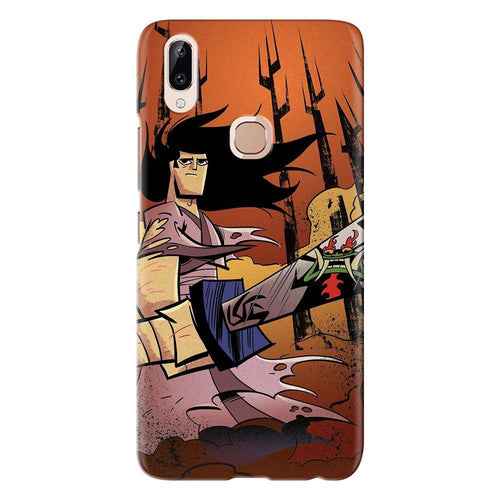 Cartoon Samurai Sword Design Cover - vivo y83 pro - PrintNawab
