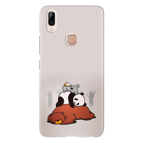 Cute Bears Sleeping Design Cover - vivo y83 pro - PrintNawab