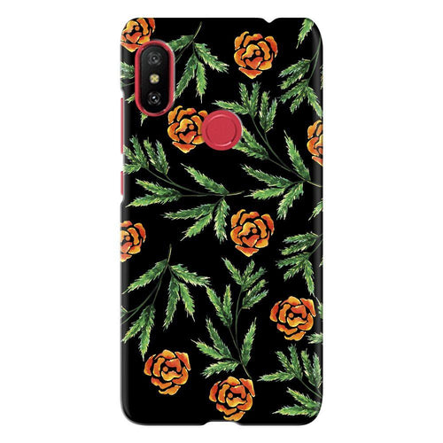 Art Flowers Design Cover - redmi note 6 - PrintNawab