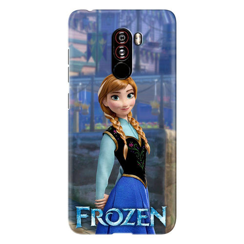 Disney Frozen Anna Princess Design Cover - poco f1 - PrintNawab