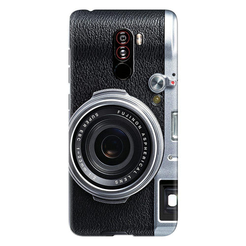 Camera Cut Design Cover - poco f1 - PrintNawab