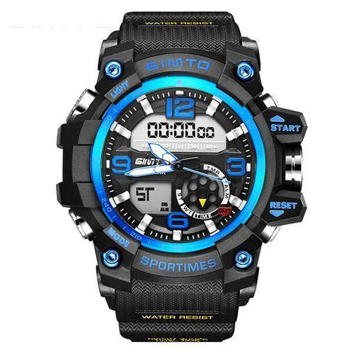 Fashion LED Multi-Function Digital Men's Watches