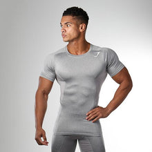Load image into Gallery viewer, Sports Fitness Colorblock Slim Fast Drying T-Shirt
