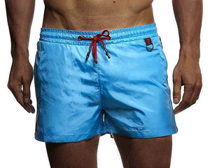Men's Solid Color Shorts Beach Pants