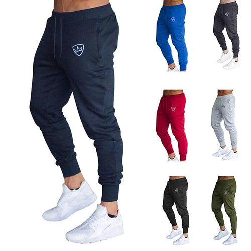 Fitness Fashion Quick-Drying Solid Color Jogger Pant