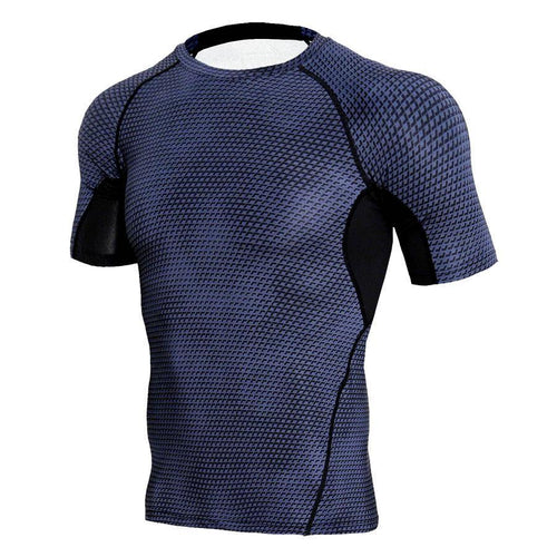 Men's Tight Training PRO Sports Fitness Running Short Sleeve