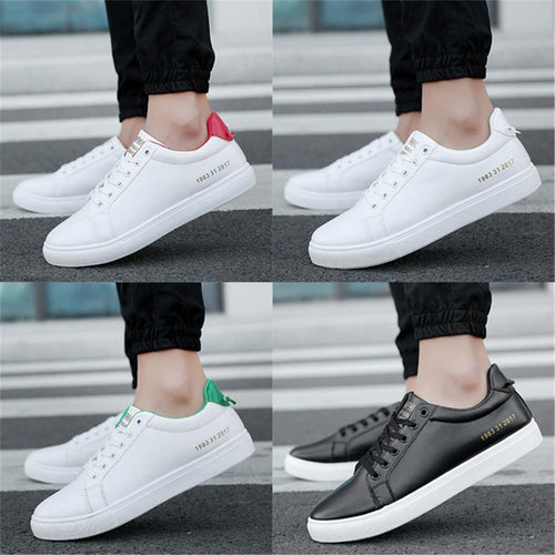 Low-top shoes   with flat-bottomed casual shoes