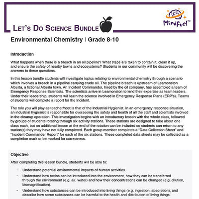 Environmental Chemistry - Let's Do Science Bundle