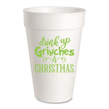 25 Pack - Drink Up Grinches ... It's Christmas