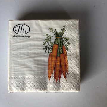 Carrot Cocktail Napkins