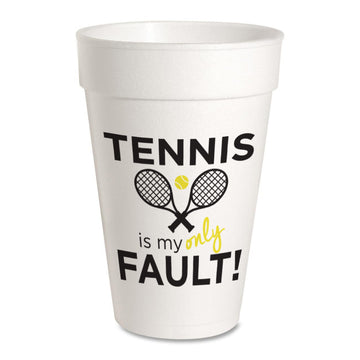 Tennis is My Only Fault