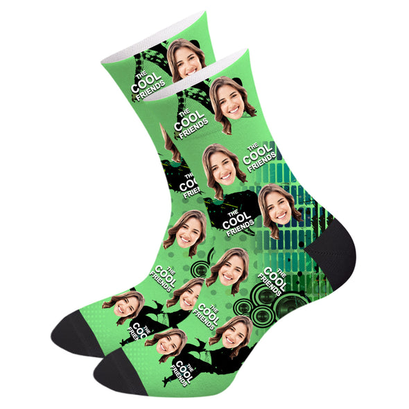 Custom Friend Socks Personalized Photo Printed Gifts