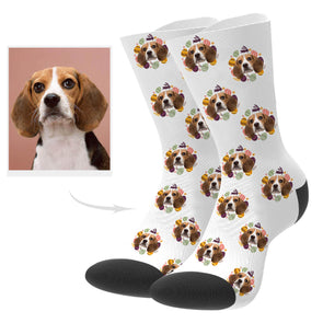 Custom Pup Picture Socks
